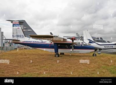 Britten Norman Islander Stock Photos & Britten Norman ...