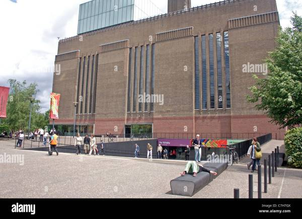 View Turbine Hall Entrance Of Tate Modern Museum In Stock 39102474 - Alamy