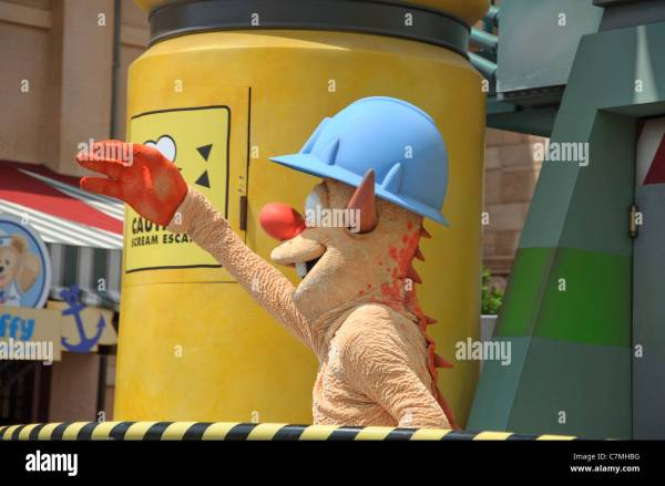 Monsters Inc Smitty - Exploring Mars