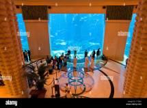 Dubai United Arab Emirates Aquarium In Atlantis