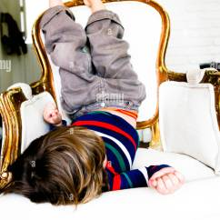 Baby Lawn Chair Fishing With Headrest Little Boy Sitting Upside Down On Stock Photo, Royalty Free Image: 39466550 - Alamy