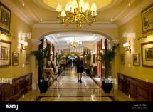 Interior Of Imperial Hotel With Luxury Colonial