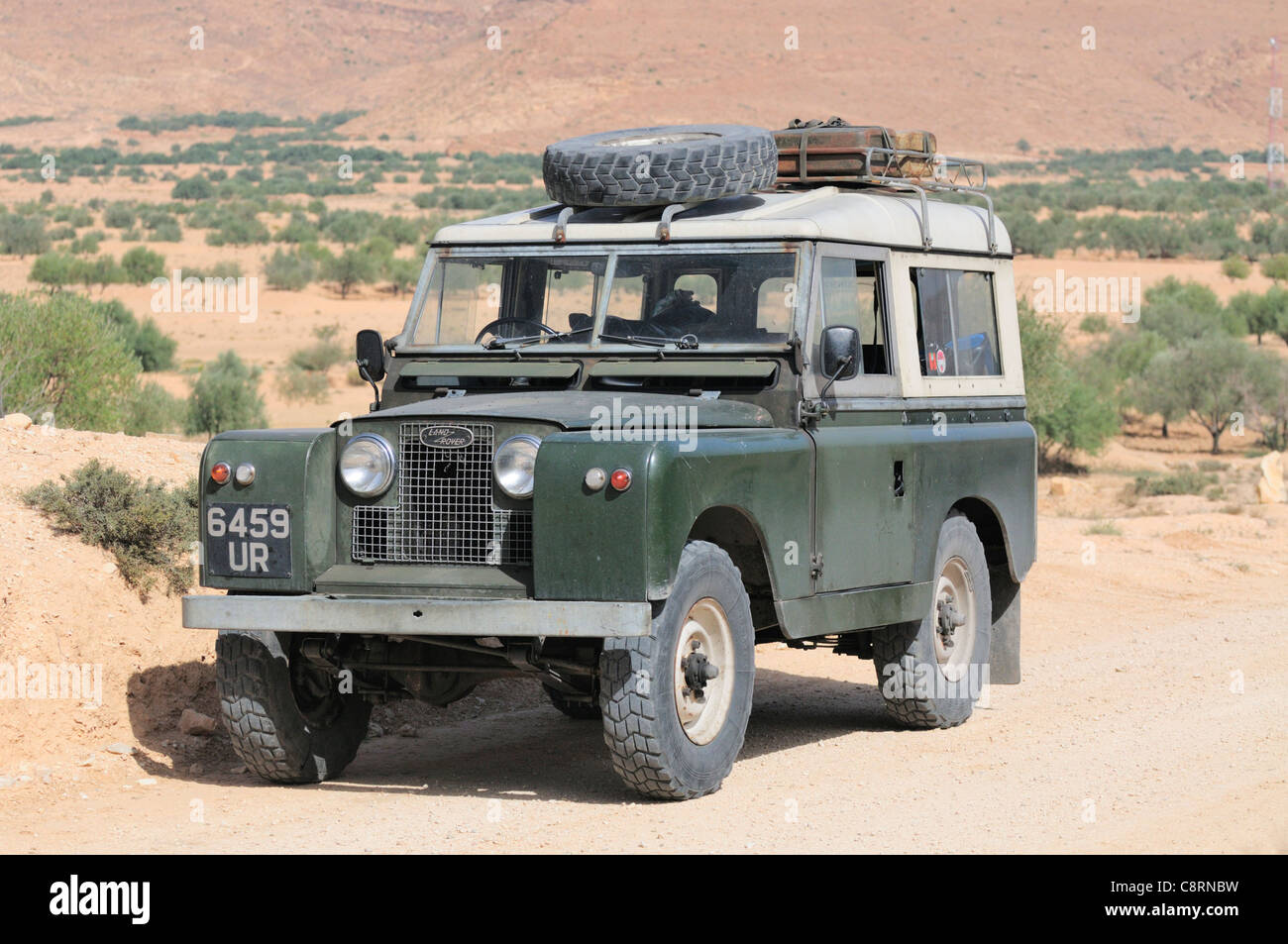hight resolution of historic 1962 land rover series 2a with roofrack