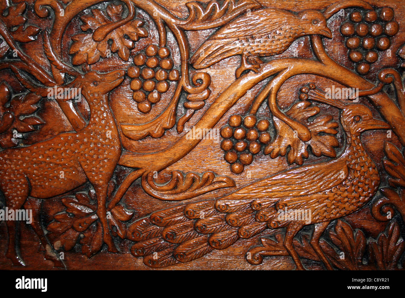 bird wood carving stock
