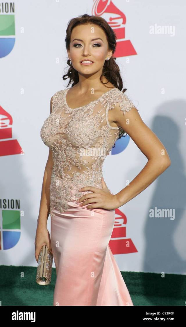angelique boyer at arrivals for 12th annual latin grammy