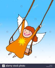 Child Guardian Angel Children Stock &