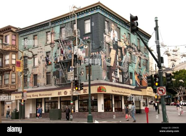 North Beach Little Italy San Francisco Mural Music Jazz
