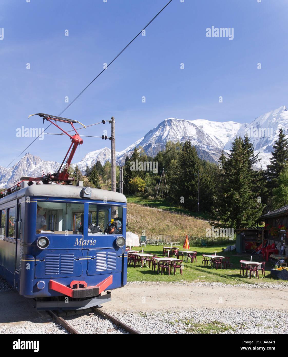 Tramway Du Mont-blanc : tramway, mont-blanc, Tramway, Blanc, Train,