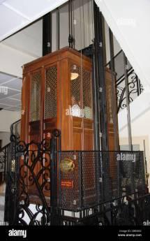 Elevator Cage Stock &