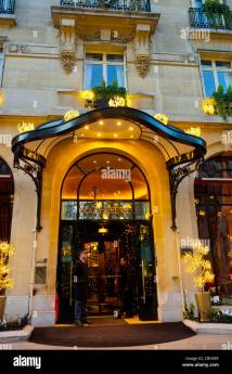 Hotel Front Entrance Door