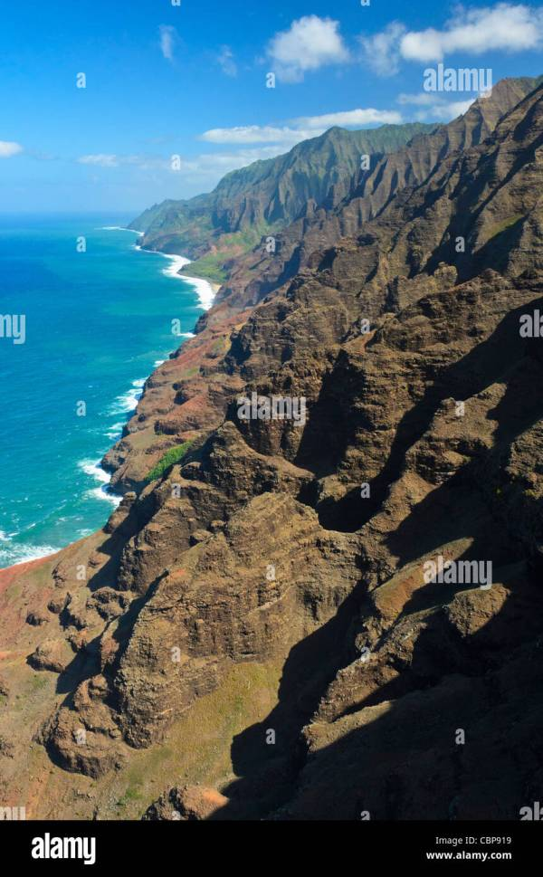 Na Pali Coast Kauai Hawaii Usa Stock Royalty Free 41671989 - Alamy