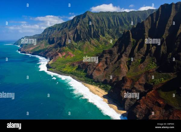Na Pali Coast Kauai Hawaii Usa Stock 41672090