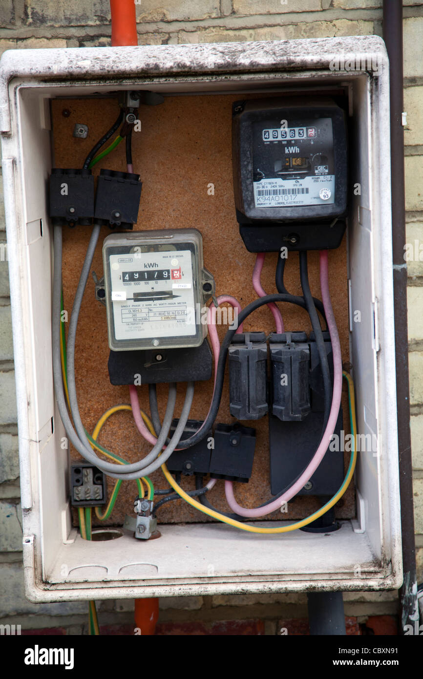 medium resolution of electric meter box stock photos electric meter box stock images meter box install meter box wiring