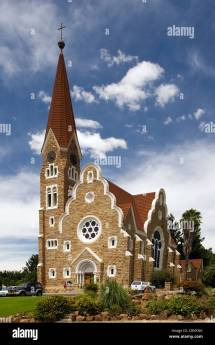 Christ Church - Windhoek Namibia Africa Stock