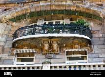 Balcony Art Nouveau Building Avenue Rapp . 29 Paris