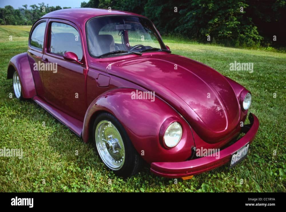 medium resolution of 1974 volkswagen custom stock image