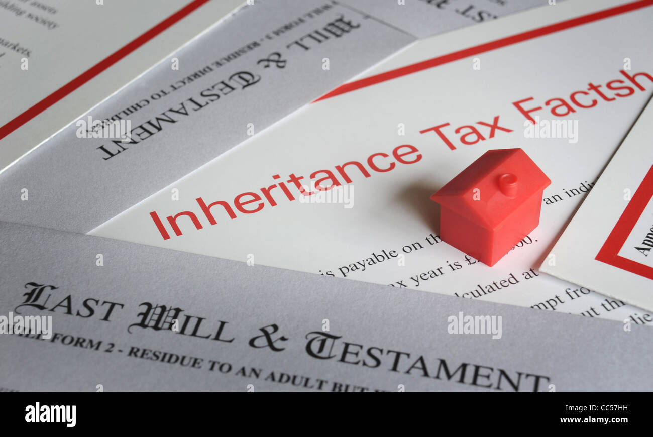 LAST WILL AND TESTAMENT FORMS WITH MODEL HOUSE AND INHERITANCE TAX ...