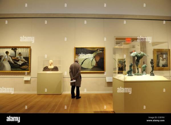 Metropolitan Museum Of Art' American Wing Includes