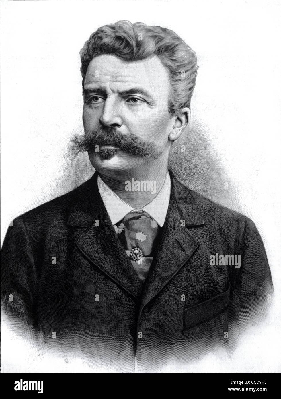 Photo De Guy De Maupassant : photo, maupassant, Portrait, Maupassant,, French, Novelist, Short, Story, Writer, Stock, Photo, Alamy