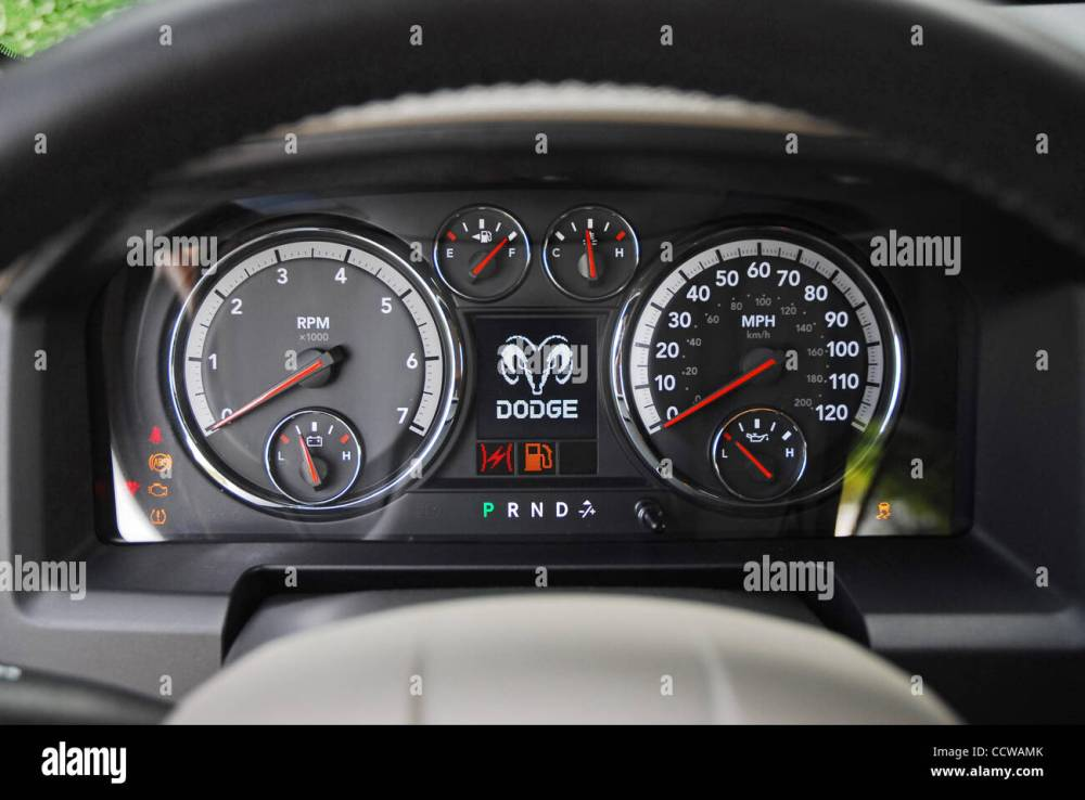 medium resolution of the 2010 dodge ram hemi bighorn crew cab is offered exclusively with a 390hp hemi v8 engine vehicle in austin tan pearl pictured instrument cluster