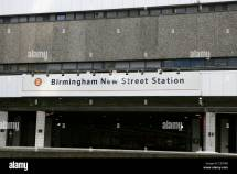 Birmingham Street Station Stock &