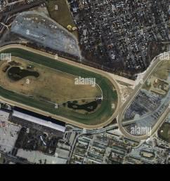 aerial photo map belmont park racetrack elmont new york [ 1300 x 955 Pixel ]