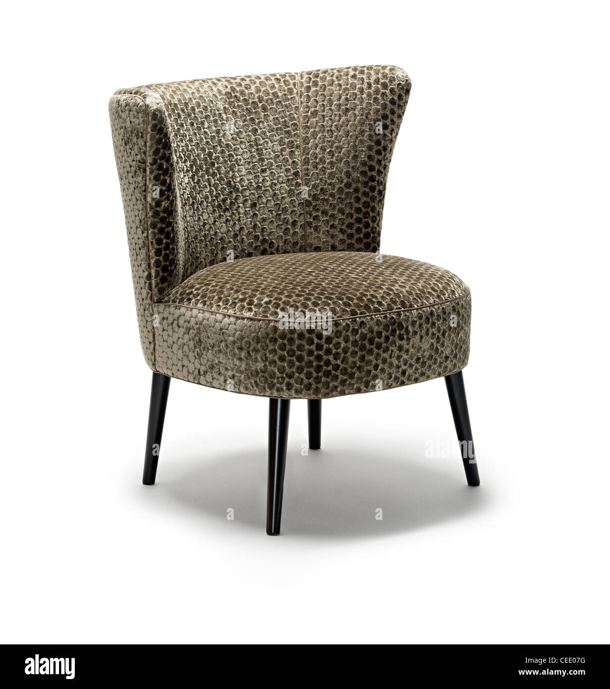 high backed chair wicker rocker stock photos images alamy occasional image