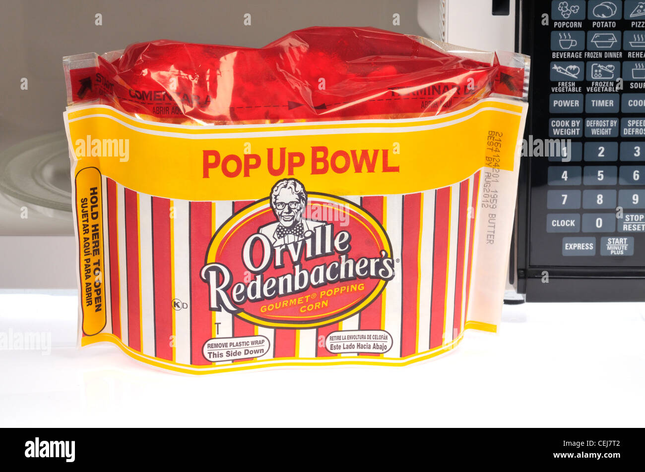 https www alamy com stock photo popup bowl of orville redenbacher microwave popcorn in front of microwave 43427218 html