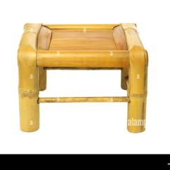 Stool Chair In Chinese Lazy Boy Leather Chairs Recliners Empty Bamboo On White Background Stock Photo 43489955