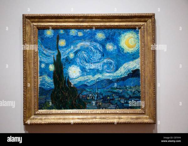 Vincent Van Gogh Starry Night Museum of Modern Art