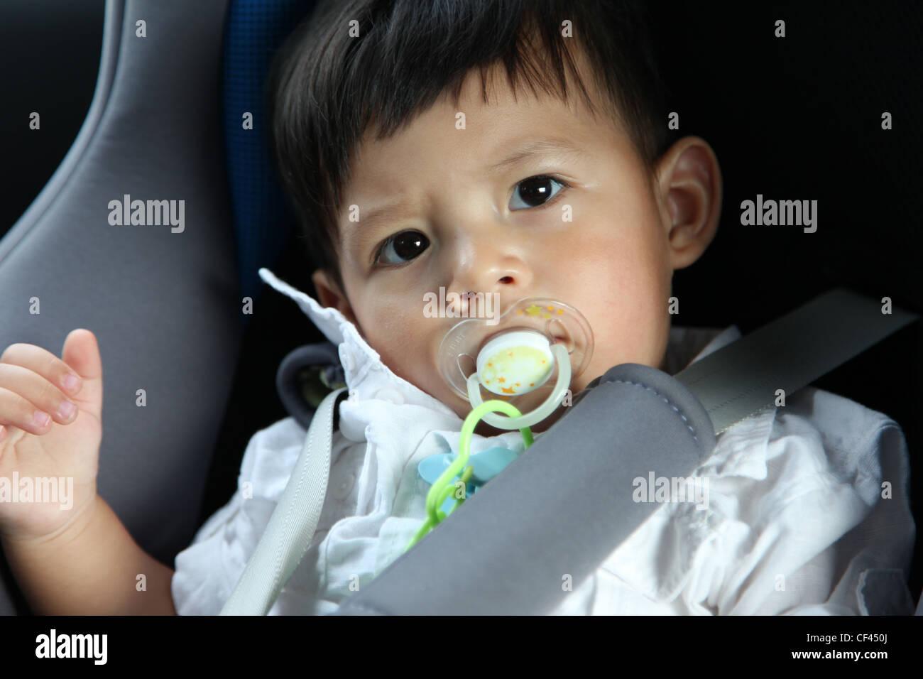 cute baby eurasian boy