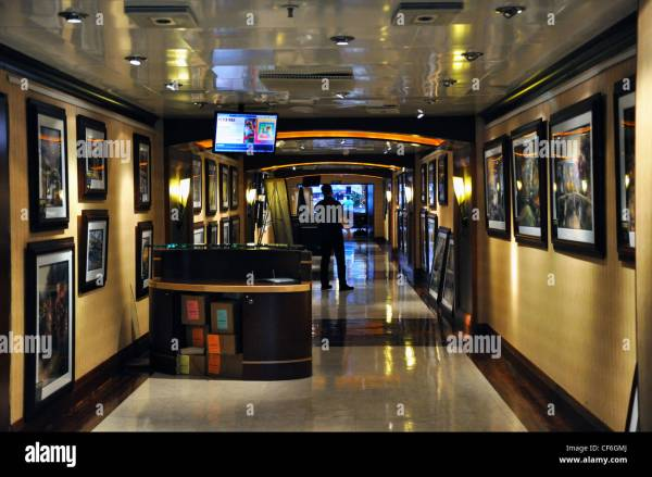 Cruise Ship Art Gallery