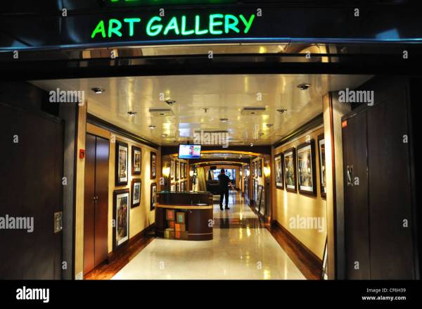 Cruise Ship Art Stock Royalty Free