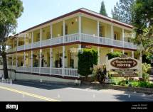 Groveland Hotel In Pioneer Gold Rush Town