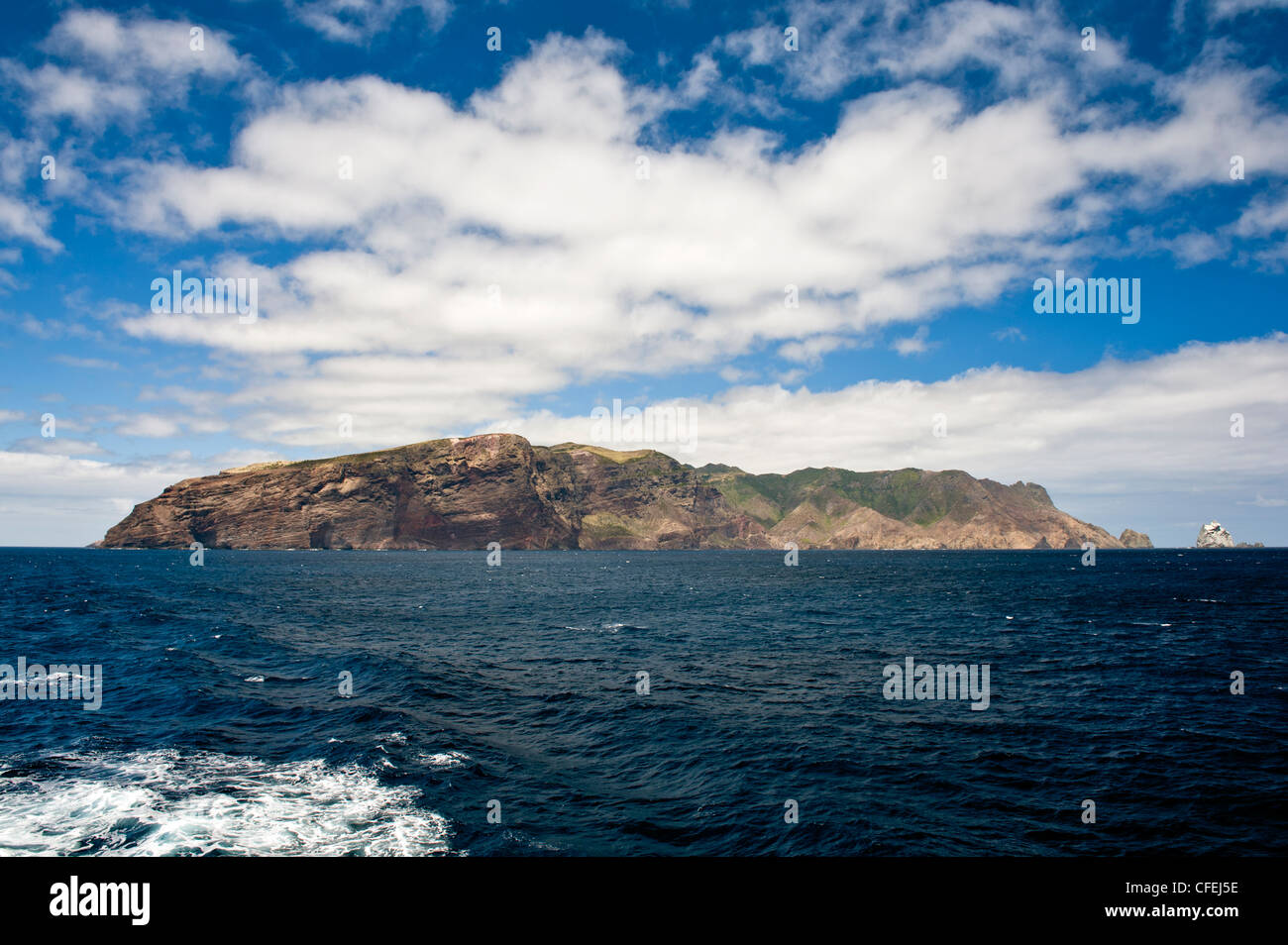 St Helena Island In The South Atlantic Ocean From The RMS