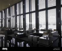 Armani Hotel Milano Italy. Lounge Bar Stock