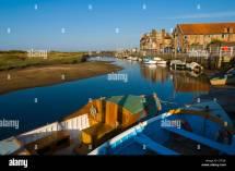 Harbour Agar Creek Blakeney Norfolk England