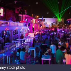 Purple Sofas Bespoke Sofa Edinburgh Nightlife In An Outdoor Nightclub, Antalya, Turkey ...