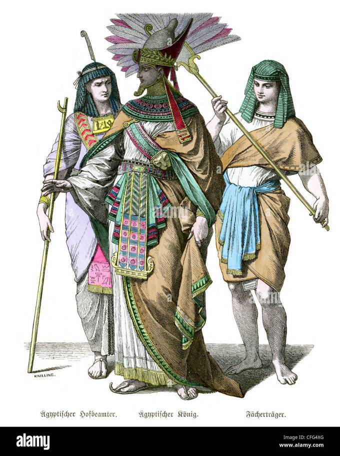 ancient egyptian clothes stock photos & ancient egyptian