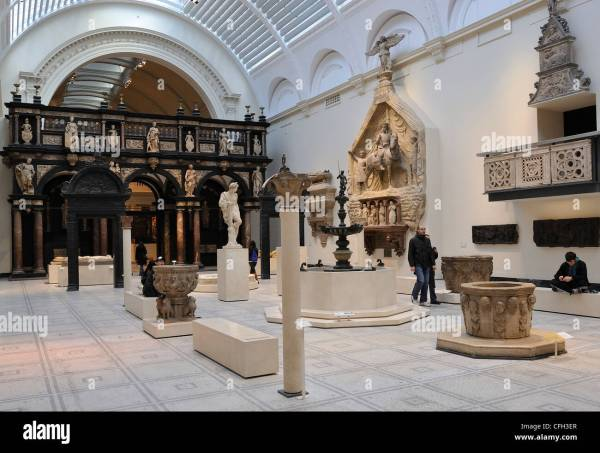 Victoria And Albert Museum Medieval Stock