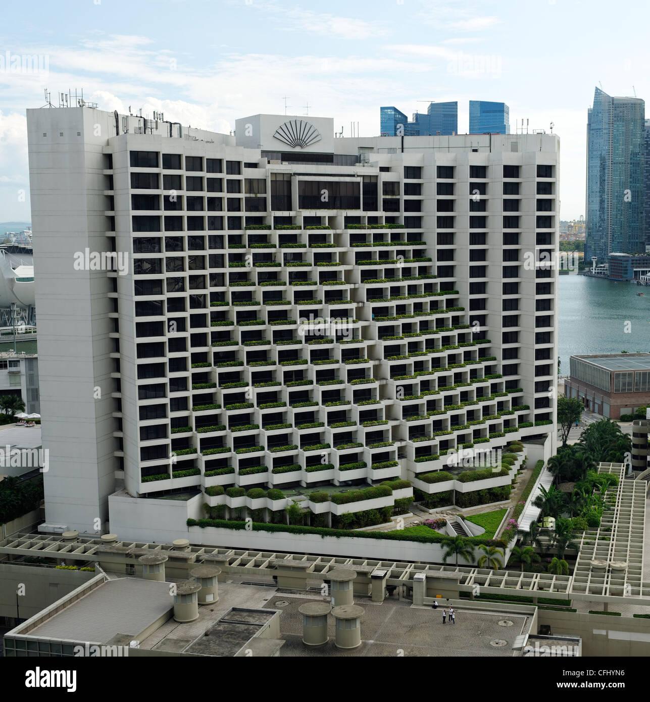 Marina Mandarin Singapore Stock Photos Marina Mandarin