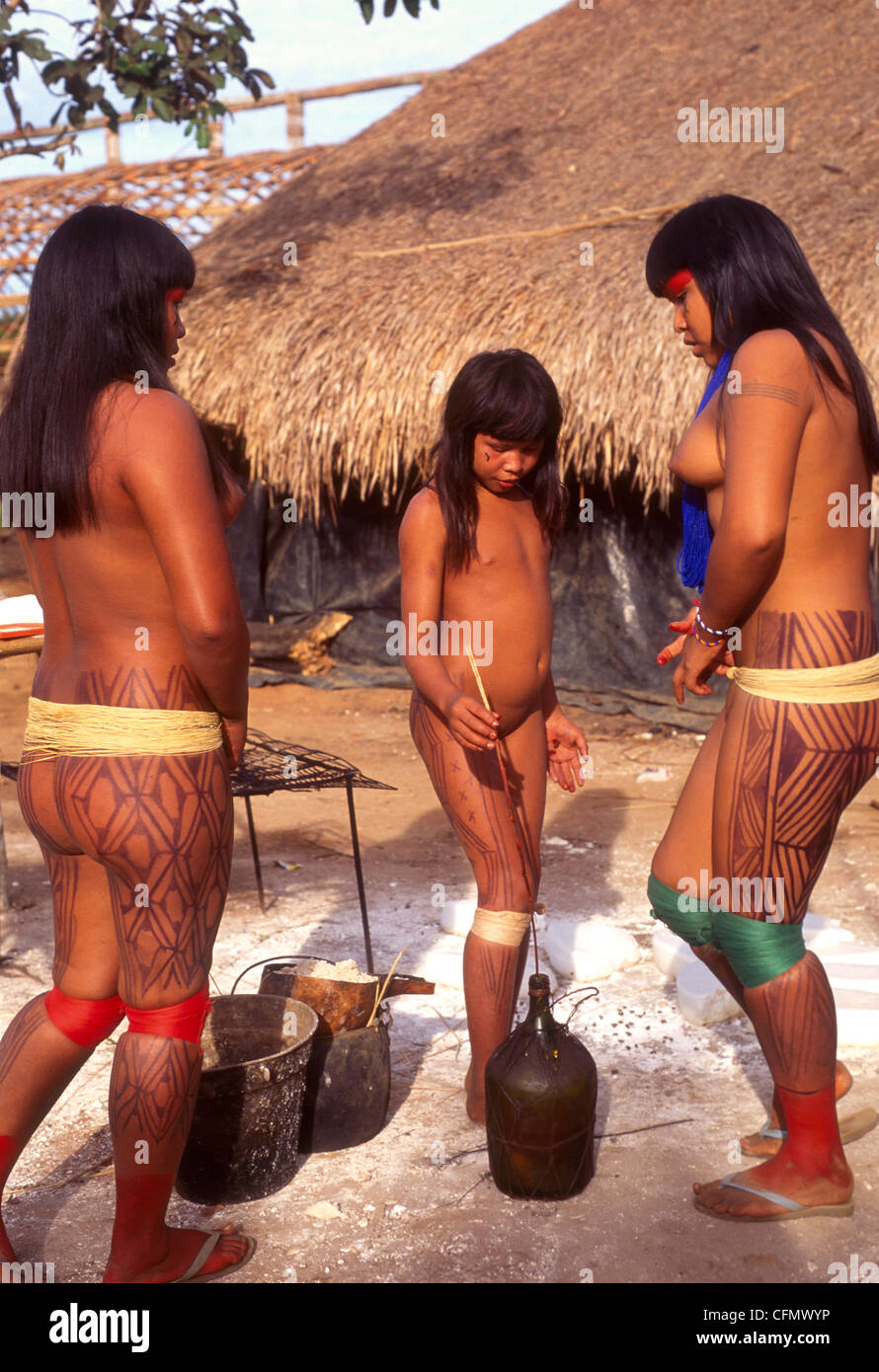 Remarkable Amazon tribe with shaved pussy opinion the