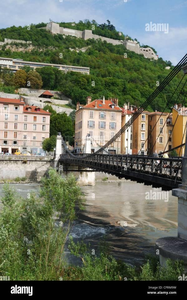 Grenoble Bastille Stock &