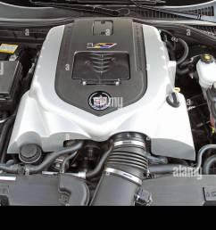 2007 cadillac xlr v 4 4 liter supercharged v8 engine stock image [ 1300 x 856 Pixel ]