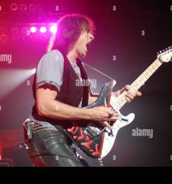 aug 30 2007 fayetteville nc usa guitarist warren demartini of the band ratt performs live as there 2007 tour makes a stop at the crown coliseum  [ 1300 x 960 Pixel ]