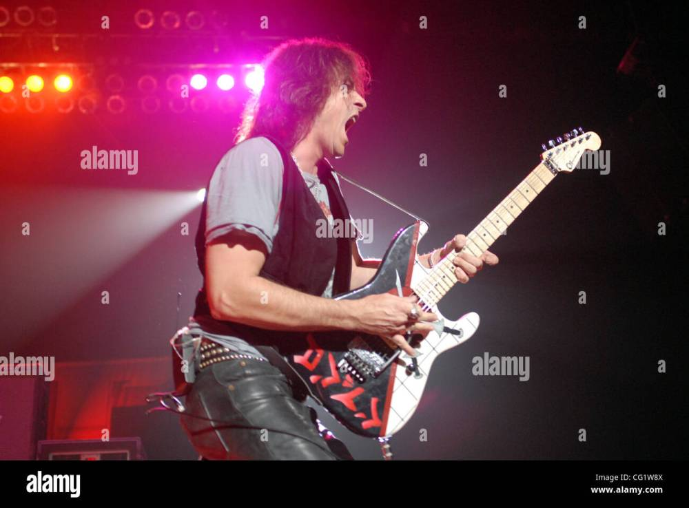 medium resolution of aug 30 2007 fayetteville nc usa guitarist warren demartini of the band ratt performs live as there 2007 tour makes a stop at the crown coliseum