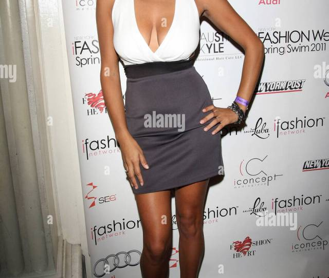 Ashley Marie Mercedes Benz Img New York Fashion Week Spring Summer 2011 Ifashion Swim Wear Arrivals New York City Usa