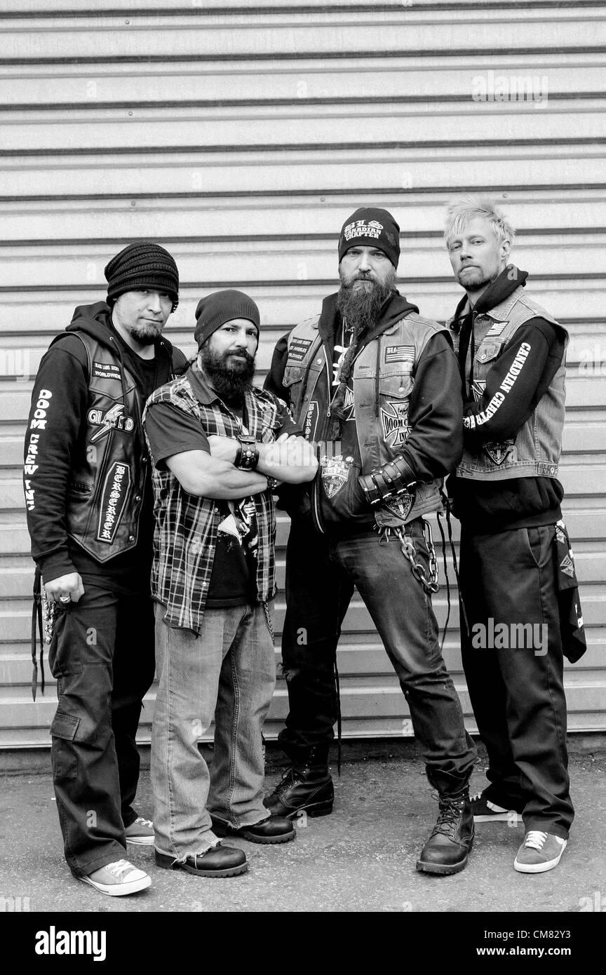 Black Label Society Members : black, label, society, members, Toronto,, Ontario,, Canada, Members, Americal, Metal, Stock, Photo, Alamy