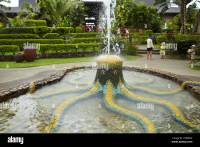 Octopus fountain and tropical gardens, Warwick Fiji Resort ...