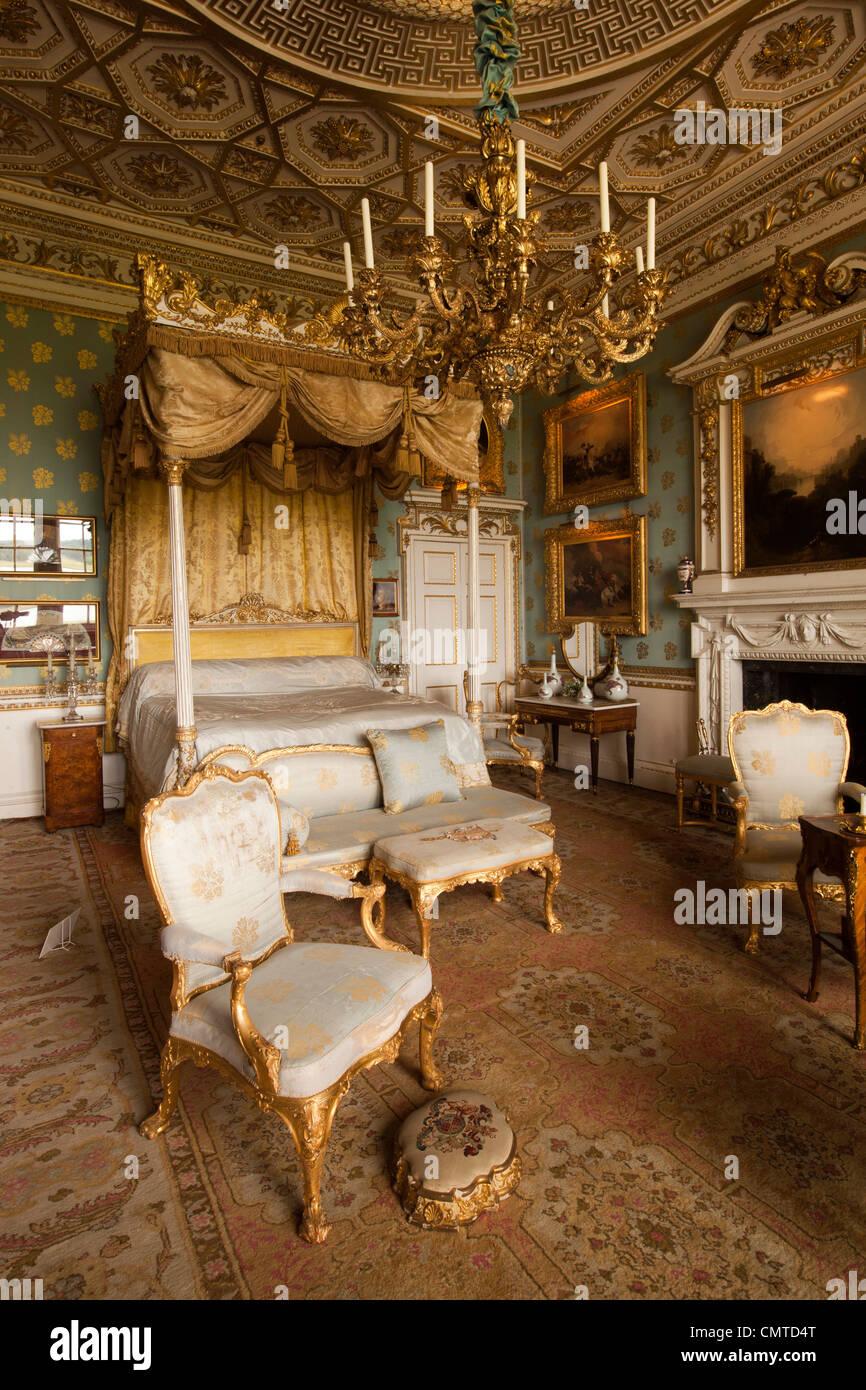 UK England Bedfordshire Woburn Abbey interior Queen